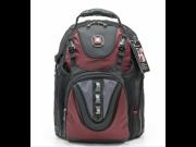 """Swissgear MAXXUM 15.4""""  Laptop Computer Backpack-Red"""