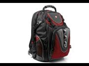 """Swissgear  MAXXUM 15.4"""" GA-7030 Laptop Computer Backpack-Red"""