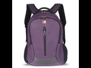 Swissgear 14 inch GA-7406 Laptop Computer Backpack Travel Backpack(Purple)