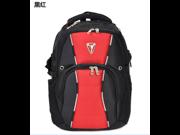 Swissgear laptop backpack student backpack travel bag-Red