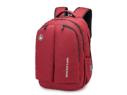 Swissgear leisure shoulders backpack laptop bag travel backpack students backpacks(Red)