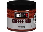 Weber Gourmet Coffee Rub Chili Pepper & Cocoa 12.5 oz. - Rich & Bold Flavor