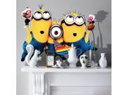 MINIONS Despicable Me WALL STICKERS Wall Sticker Vinyl for children room Popular
