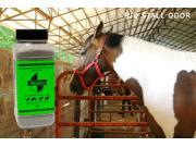 SMELLEZE Natural Stall Odor Removal Deodorizer 50 lb. Granules Destroy Stinky Urine