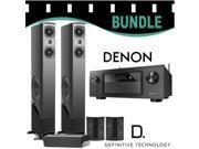 Denon AVR-X4200W Bundle w Definitive Technology BP-8060ST/CS-8040HD/SR-8040BP