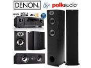 Denon AVR-X1300W Bundle with Polk (2) TSx 330T, (2) TSx 110B, and (1) TSx 150C