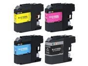 E-Z Ink ™ Compatible Ink Cartridge Replacement For Brother LC-103 LC-103XL LC103XL LC 103 XL  High Yield (4) Pack (1 Black, 1 Cyan, 1 Magenta, 1 Yellow) LC103BK LC103C LC103M LC103Y