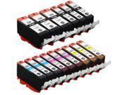 SL 15 Pack Canon PGI-220 CLI-221 Ink Cartridges for PIXMA SFP2 iP3600 MX860 Printer