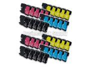 SL 40 PACK LC61 Ink Cartridges for Brother MFC-490CW MFC-495CW MFC-J615W MFC-J630W