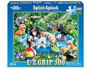 White Mountain Puzzles Splish Splash 300 Piece Jigsaw EZ Grip Puzzle