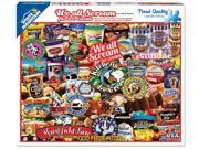 We All Scream For Ice Cream 1000 Piece Puzzle by White Mountain Puzzles 9SIA7WR3CG1027