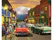 White Mountain Puzzles Main Street - 1000 Piece Jigsaw Puzzle