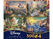 Ceaco 4in1 Multipack Thomas Kinkade Disney Dreams Collection Puzzle 3667 image