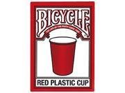 Bicycle Red Party Cup Collectible Poker Playing Cards - 1 Sealed Deck 9SIA7W93T98720