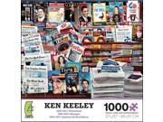 Ken Keeley 2001 to 2011 Newsstand 1000 Piece Puzzle by Ceaco