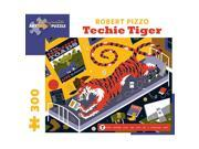 Techie Tiger 300 Piece Puzzle by Pomegranate