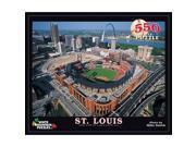 St. Louis Cardinals Busch Stadium 550 Piece Puzzle by White Mountain Puzzles
