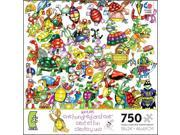 101 Turtles and a Hare 750 Piece Puzzle by Ceaco