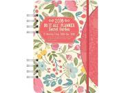 Secret Garden Do It All Softcover Weekly Planner by Orange Circle Studio
