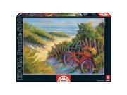 Educa Beach Scene with Fresh Flowers Puzzle (500-Piece)