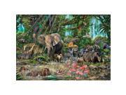 African Jungle 2000 Piece Puzzle by John N. Hansen