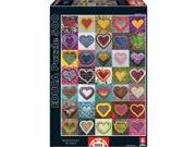 Hearts 500 Piece Puzzle by John N. Hansen Co.