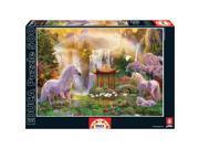 Unicorn Waterfall 500 Piece Puzzle by John N. Hansen