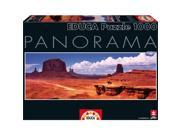 Monument Valley 1000 Piece Panoramic Puzzle by John N. Hansen