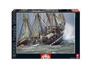 Belem 1500 Piece Puzzle by John N. Hansen