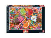 Sweets 500 Piece Puzzle by John N. Hansen Co.