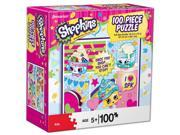 Shopkins Daring Dairy Products 100 Piece Puzzle by Pressman Toy Co.