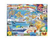 Hawaii 1000 Piece Puzzle by White Mountain Puzzles