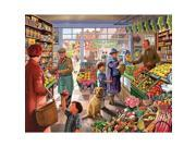 Market Day 1,000 Piece Puzzle by White Mountain Puzzles
