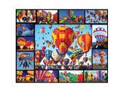 Hot Air Balloons 1,000 Piece Puzzle by White Mountain Puzzles