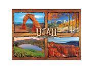 Utah 2017 Wall Calendar 9SIV0W74VP9751