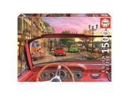 Paris in a Car 1,500 Piece Puzzle by John N. Hansen