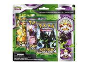 Pokemon Cards Mega Alakazam Zygarde Blister 3-Pack wit by Pokemon USA