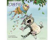 Gary Patterson's Cats Wall Calendar by ACCO Brands 9SIAD835GX4574