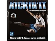 Kickin' It Women's Soccer Wall Calendar by Sellers Publishing Inc 9SIV0W74VP7500