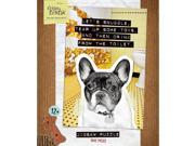"From Frank """"Let's Snuggle, Tear Up Some Toys """"French Bulldog Jigsaw Puzzle"" 9SIA7WR4V47862"