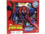 Spider-Sense Spiderman Super 3D Dartboard Game by Cardinal 9SIV0W74VR0370