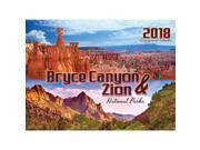 Bryce Canyon and Zion Wall Calendar by Smith-Southwestern 9SIV0W75TT9640