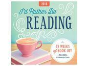 Id Rather Be Reading Easel Calendar by Sourcebooks