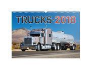 Truck Calendar - 2018 Calendar - Calendar 2017 - Wall Calendar by Presco Group 9SIV0W75YS6038