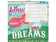 Positively Happy Haskamp Wall Calendar by Trends International 9SIV0W75ZK1504
