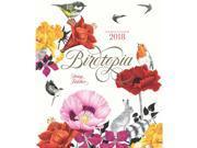 Birdtopia Coloring Wall Calendar by Chronicle Books
