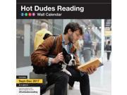 Hot Dudes Reading Wall Calendar by Chronicle Books 9SIV0W764G4308