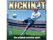 Kickin' It Women's Soccer Wall Calendar by Sellers Publishing 9SIV0W764P1837