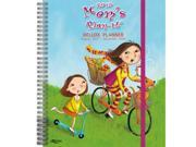 "Wells Street by LANG - 2018 Deluxe Planner - """"Mom's Plan-It"""" Artwork by Cindy Revell - 17 Month (August 2017 - December 2018) - 9.5"""" x 11"""""" 9SIA7WR64H1110"