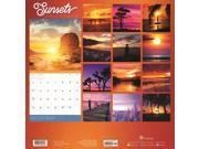 Sunsets Wall Calendar by TF Publishing 9SIAB576A82011